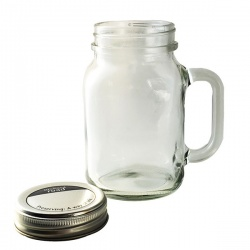 Urban Hardware - Mason Jar Drinking Glass (1 Pint)